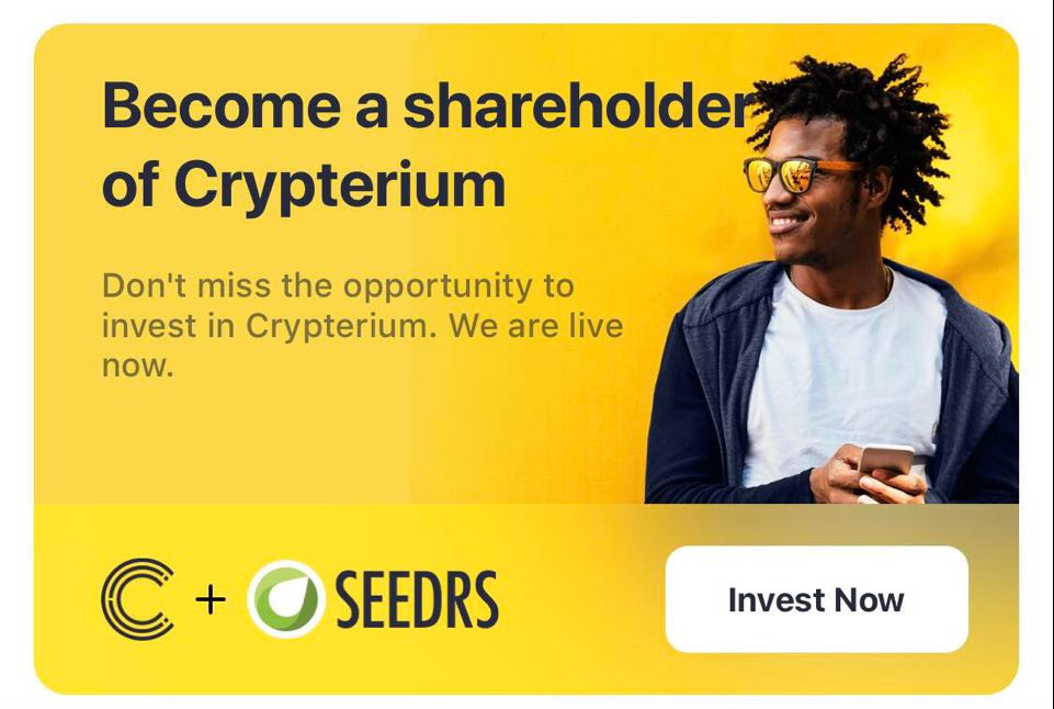 Crypterium and Seedrs